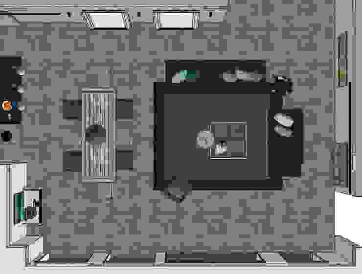 Sala y comedor:  de estilo industrial por MARIANGEL COGHLAN, Industrial