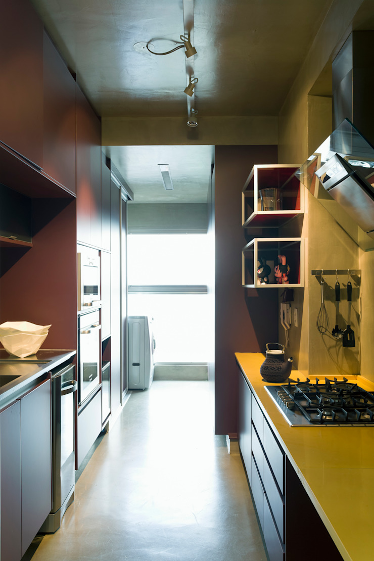 Vila Leopoldina Loft Cozinhas modernas por DIEGO REVOLLO ARQUITETURA S/S LTDA. Moderno