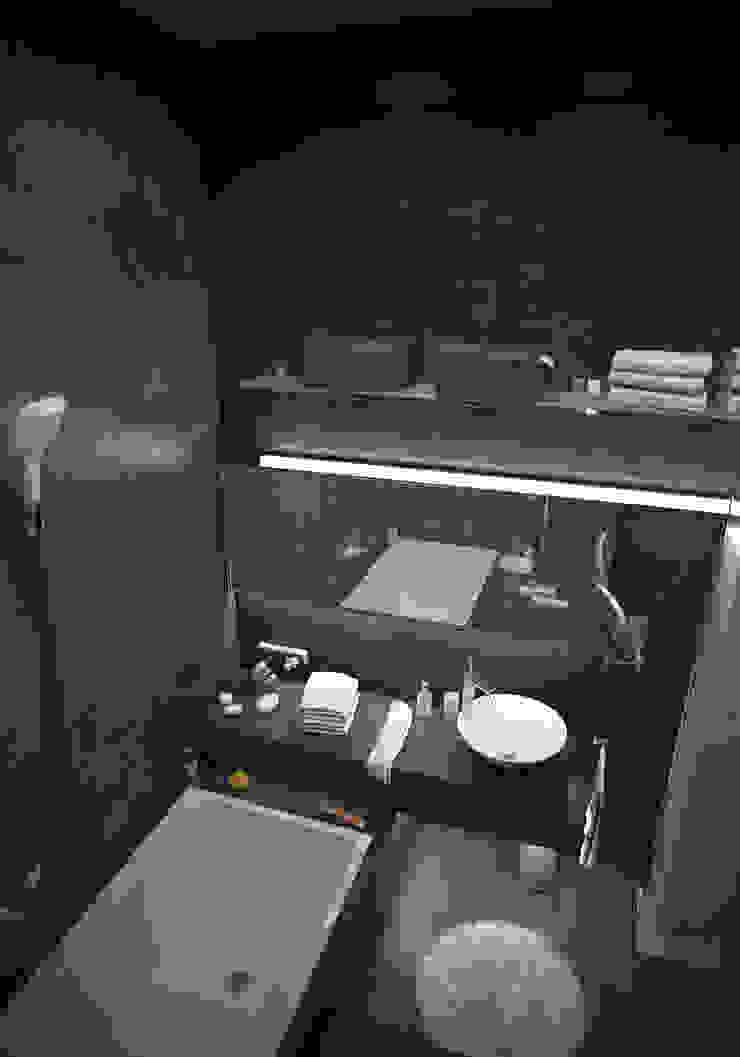 Industrial style bathroom by ToTaste.studio Industrial