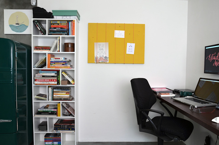 : Estudio Motim Escritórios industriais por Mmaverick Arquitetura Industrial