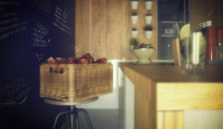 Лофт Кухня в стиле лофт от ToTaste.studio Лофт