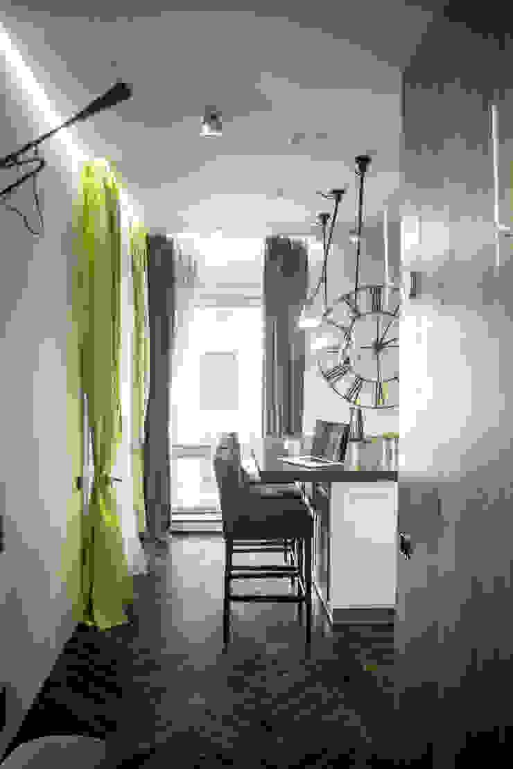 Квартира для молодоженов Кухни в эклектичном стиле от ToTaste.studio Эклектичный