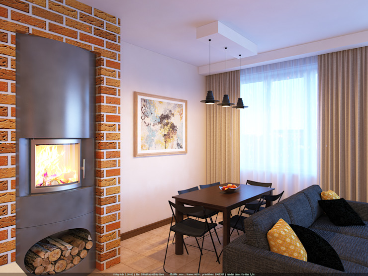 Таун хаус в Сходне Гостиные в эклектичном стиле от МайАрт: ремонт и дизайн помещений Эклектичный