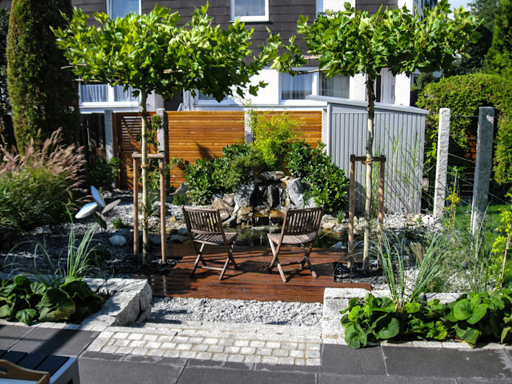 Modern style gardens by -GardScape- private gardens by Christoph Harreiß Modern