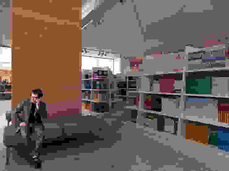 Book Store / Almaty от Lenz Architects Модерн