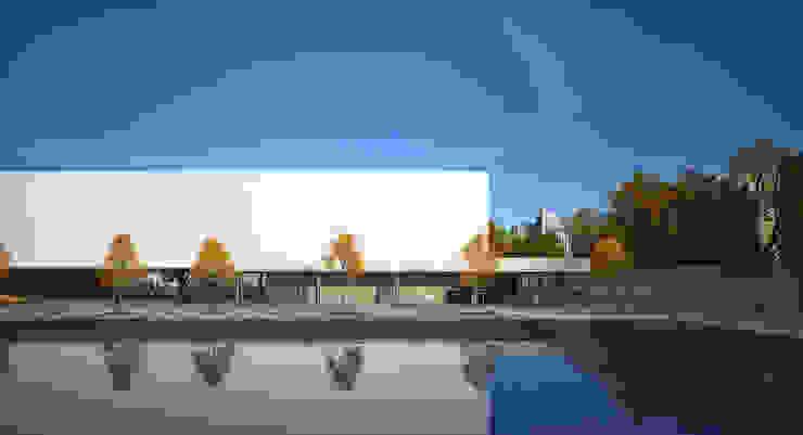 EMBASSY OF THE UAE / ASTANA Конференц-центры в стиле минимализм от Lenz Architects Минимализм