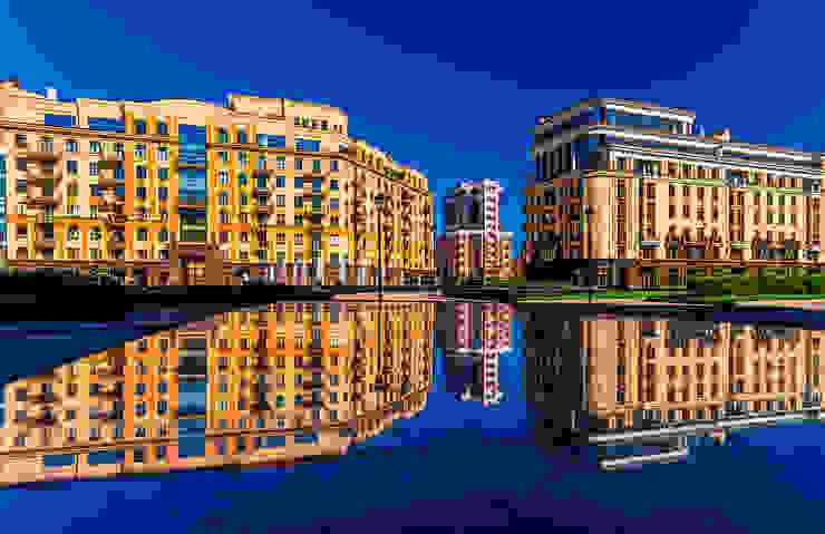 """ЖК """"Парадный квартал"""" Дома в классическом стиле от Belimov-Gushchin Andrey Классический"""