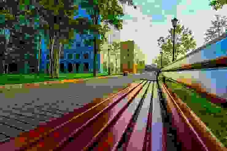 Бизнес-парк <q>Полюстрово</q> Офисы и магазины в стиле лофт от Belimov-Gushchin Andrey Лофт