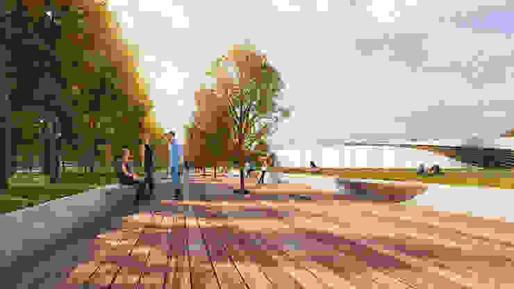 UNIVERSITY CAMPUS / ASTANA Школы в стиле модерн от Lenz Architects Модерн