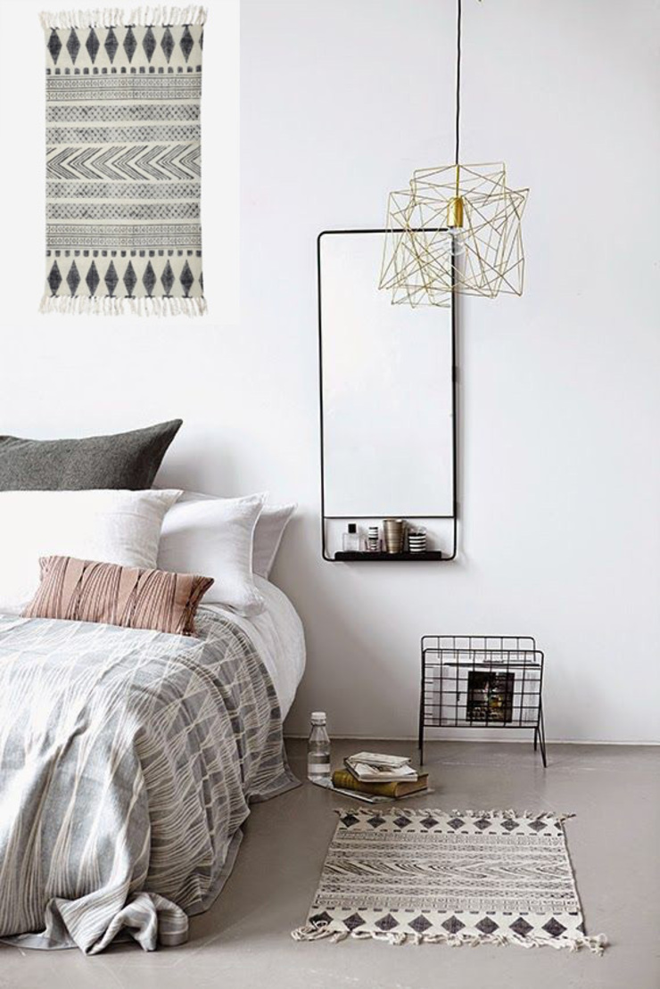 Cuartos de estilo escandinavo de Muebles Capsir Escandinavo