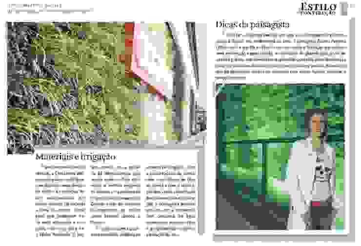 Jardim Vertical Costaneira Edifícios comerciais modernos por Adines Ferreira Paisagismo Moderno