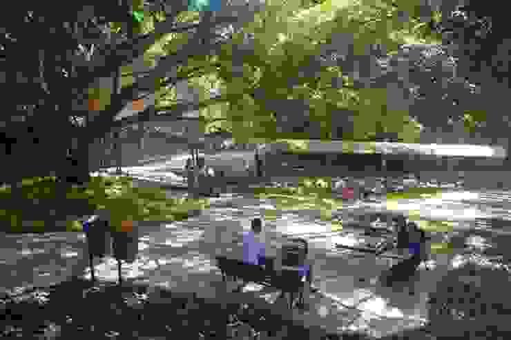 Jardim da Biblioteca Escolas modernas por Adines Ferreira Paisagismo Moderno