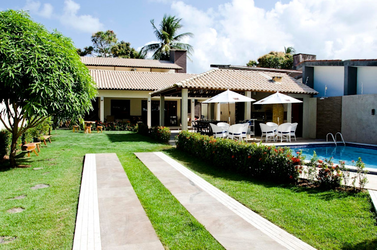 Celia Beatriz Arquitetura Casas de estilo tropical