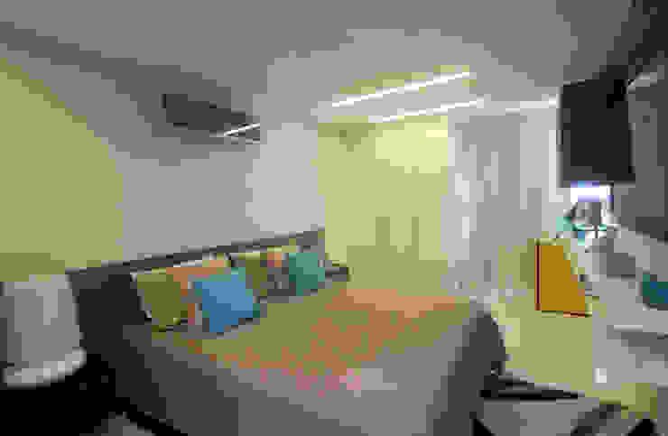 Apartamento Jovem casal Quartos minimalistas por Celia Beatriz Arquitetura Minimalista