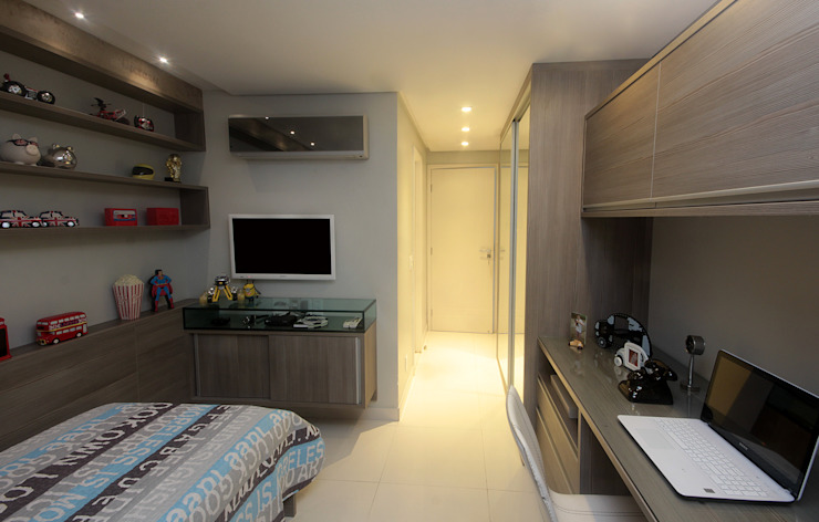 Apartamento Jovem casal por Celia Beatriz Arquitetura Moderno