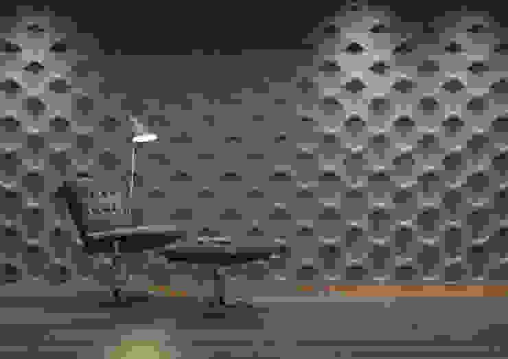 Panele 3D Nowoczesne domowe biuro i gabinet od Deeco Nowoczesny