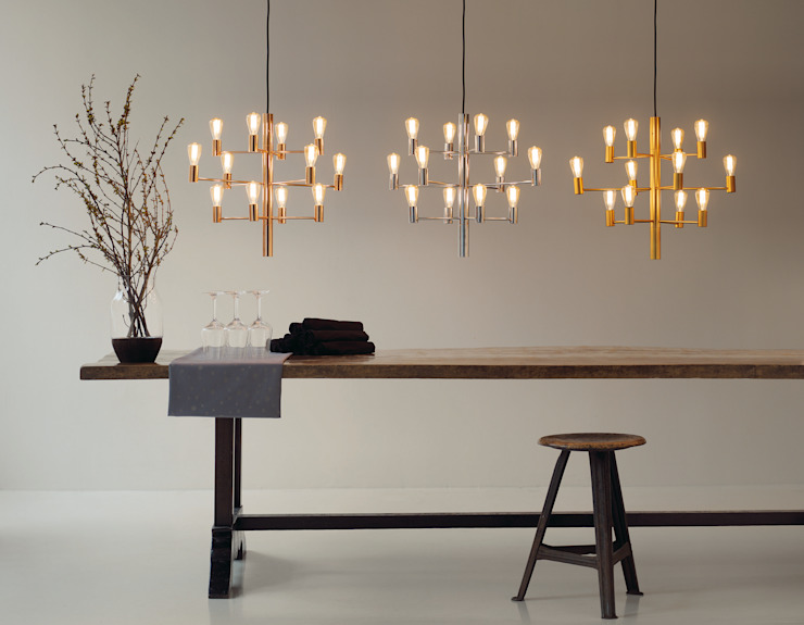 Chandeliers / Manola Modern dining room by Herstal A/S Modern