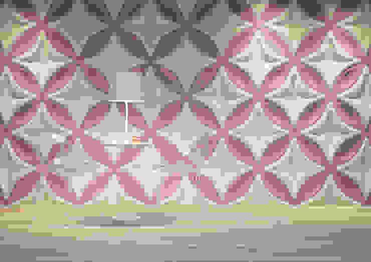 Panele 3D Nowoczesne ściany i podłogi od Deeco Nowoczesny