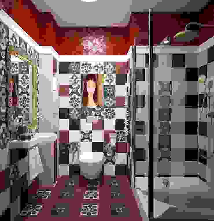 Modern bathroom by МИД | мастерская интерьерного дизайна Modern