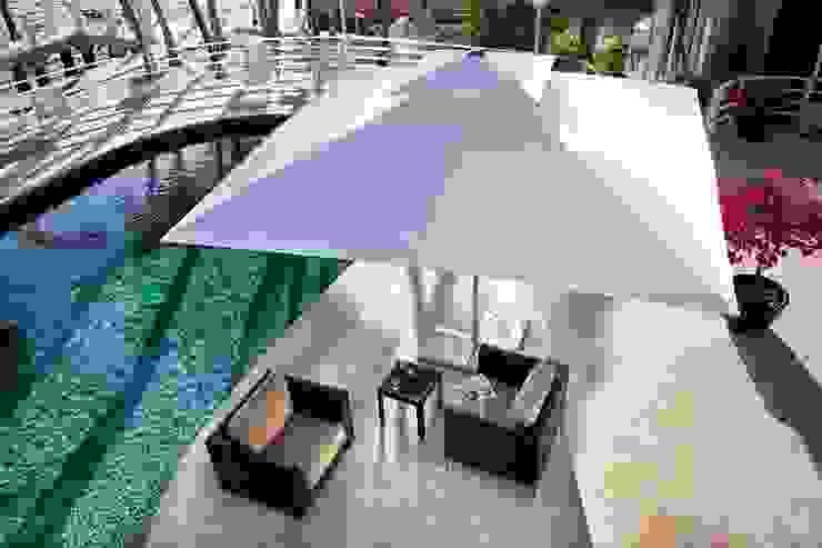 300x300cm Havuz şemsiyeleri Akbrella Şemsiye San. ve Tic. A.Ş Tropikal