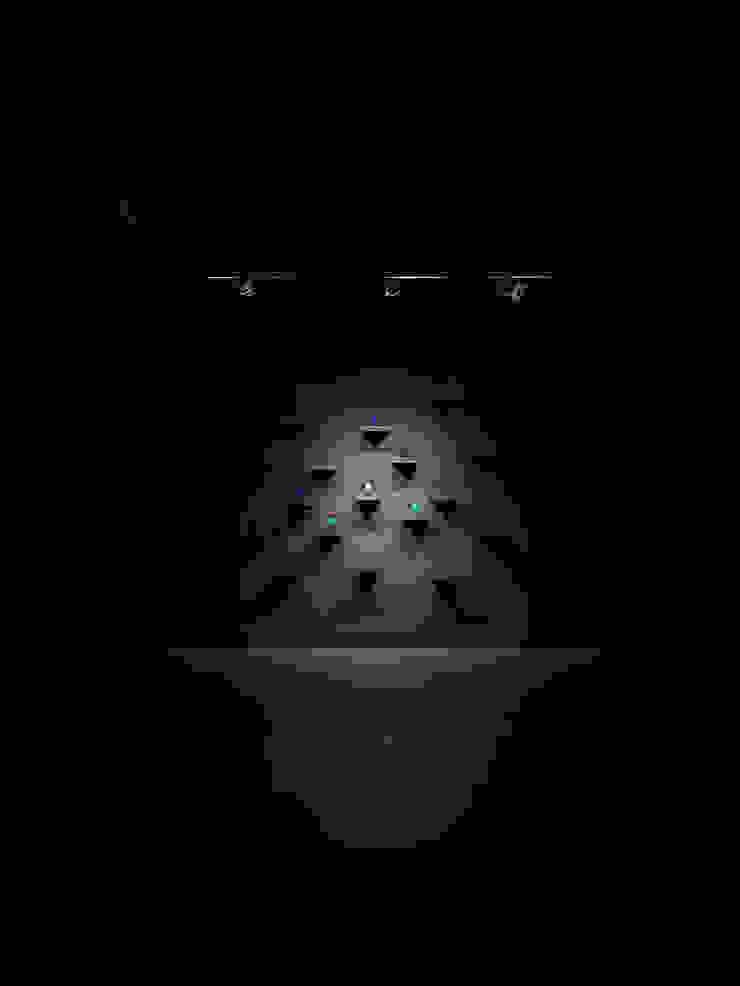 Галерея современного искусства. Екатеринбург Рабочий кабинет в стиле минимализм от Dmitriy Khanin Минимализм