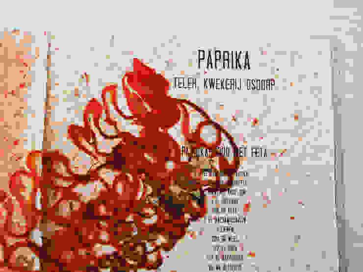 AGF Klasse 3 Paprika: modern  door Studio Renee Boute, Modern