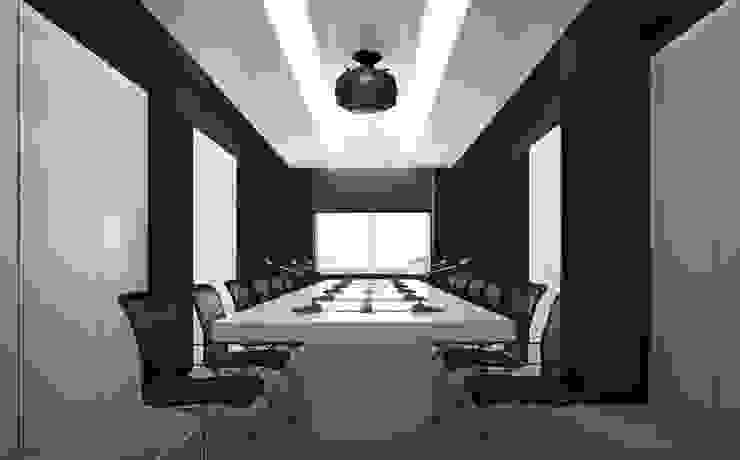Дизайн коворкинга г.Киев Конференц-центры в стиле модерн от NK design studio Модерн