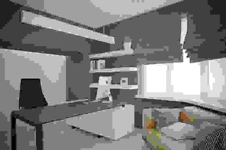 Дизайн коворкинга г.Киев Офисные помещения в стиле модерн от NK design studio Модерн