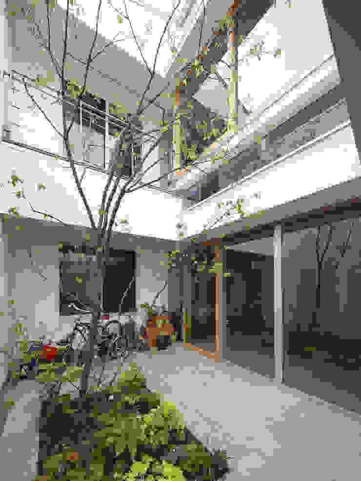 春風の家 モダンな庭 の 樋口章建築アトリエ モダン