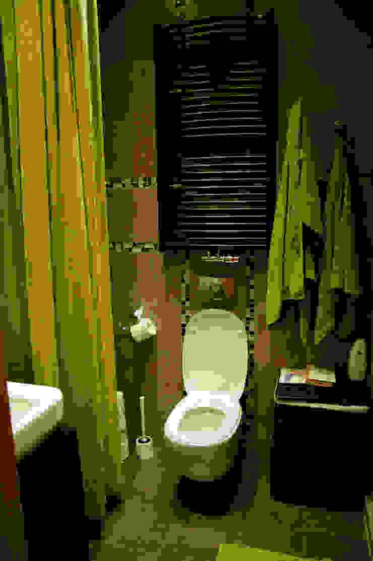 Przed metamorfozą/łazienka z toaletą od Pracownia Kaffka