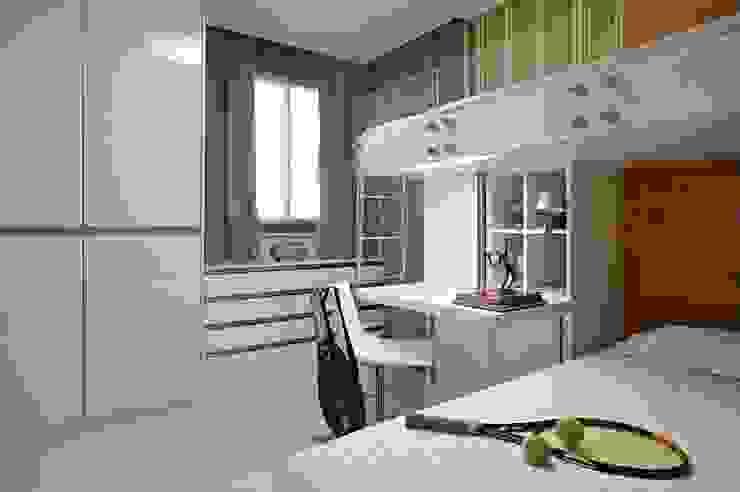 Apartamento Ninho Quartos modernos por Coutinho+Vilela Moderno