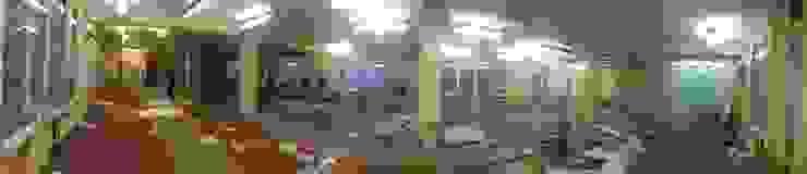 Танцевальная студия в Днепропетровске 380 м2 от NK design studio Лофт