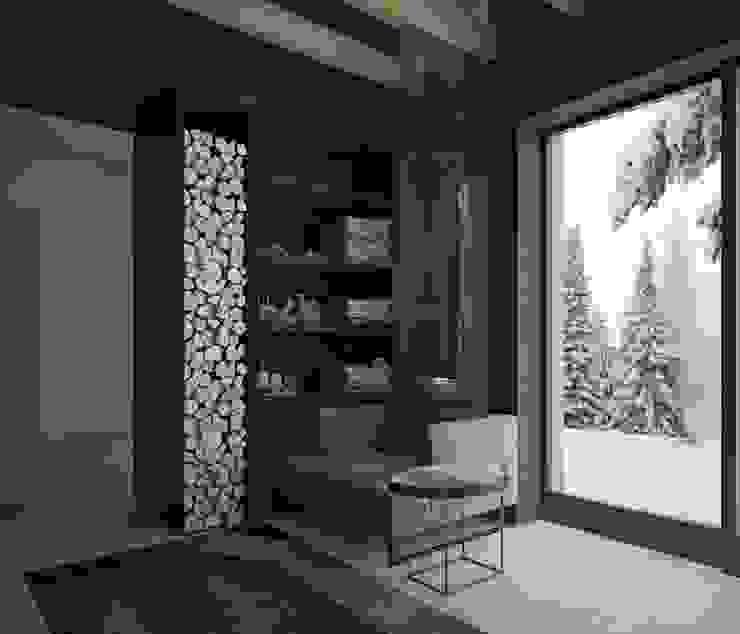 Загородный дом в Краснодаре: Спа в . Автор – NK design studio, Модерн