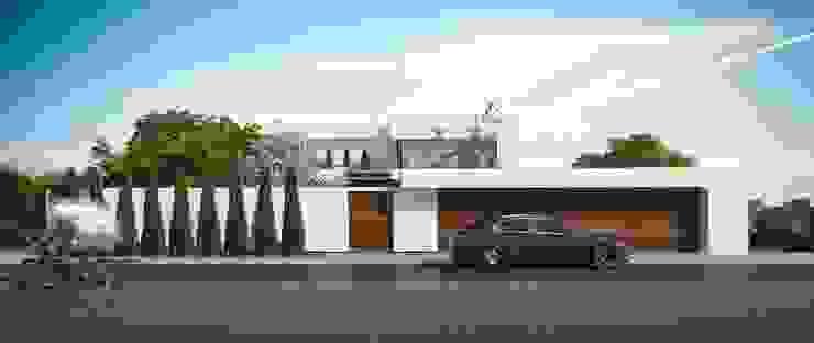 Загородный дом в Краснодаре: Дома в . Автор – NK design studio,