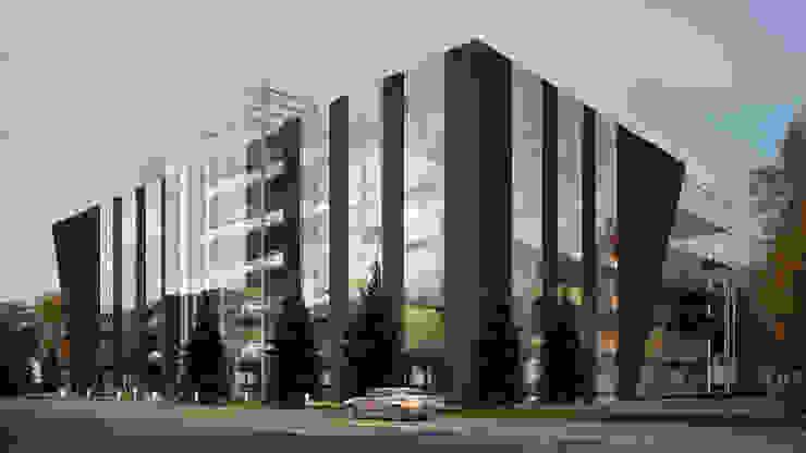 Lenz Architects Moderne Bürogebäude