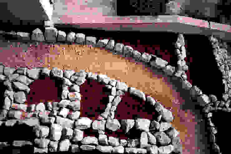 Weg- und Beeteinfassung (Südfrankreich) Mediterraner Garten von Natur-Stein-Garten Mediterran