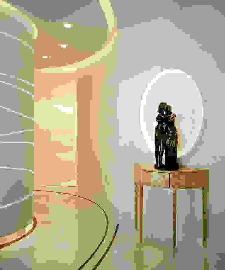 ФЕН-ШУЙ Коридор, прихожая и лестница в стиле минимализм от Biriukova Ievgeniia Минимализм