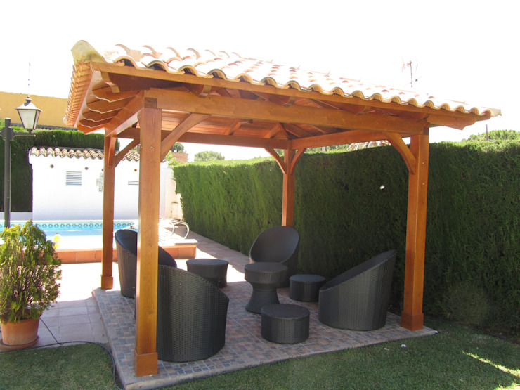 Classic style garden by Ático y Jardín Classic