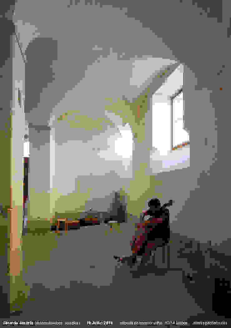 Atelier Calçada do Correio Velho (2014) Locais de eventos minimalistas por pedro pacheco arquitectos Minimalista
