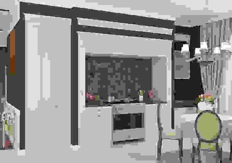 Частный дом в Краснодарском крае. Кухня в классическом стиле от elitdizayn Классический