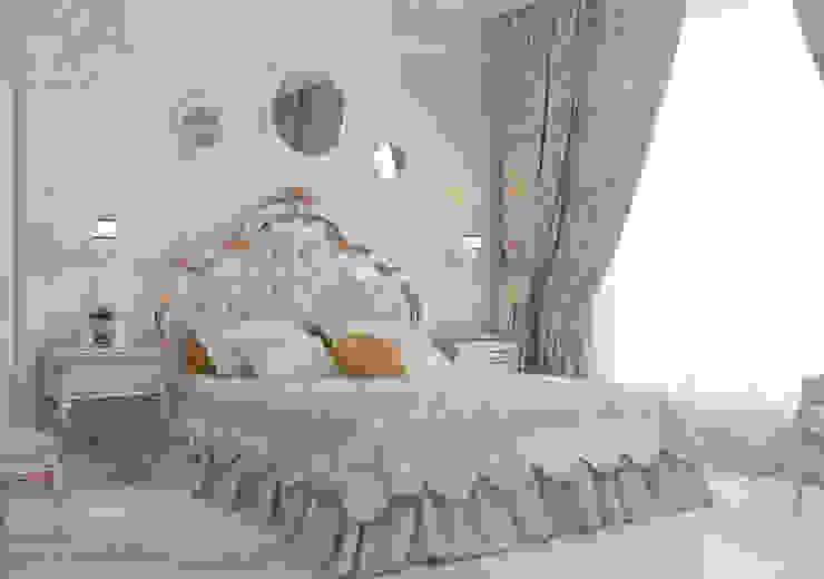 Частный дом в Краснодарском крае.: Спальни в . Автор – elitdizayn,
