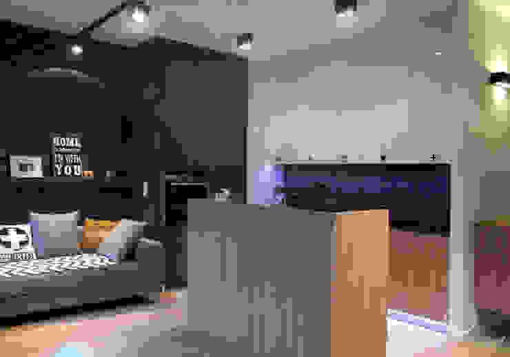 Modern living room by Kołodziej & Szmyt Projektowanie wnętrz Modern