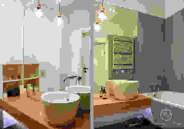 GREY II Nowoczesna łazienka od Kołodziej & Szmyt Projektowanie wnętrz Nowoczesny