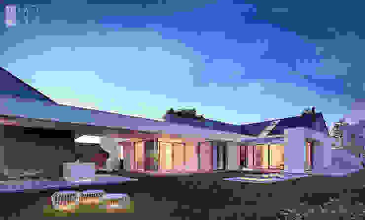 Moderne Häuser von Pracownia projektowa artMOKO Modern