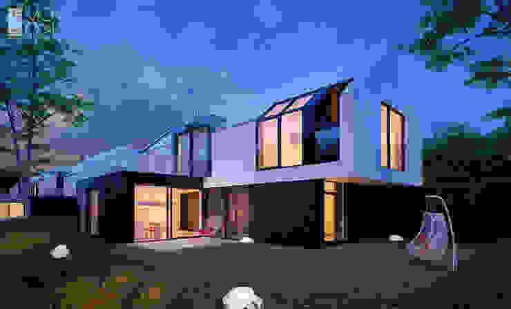 Houses by Pracownia projektowa artMOKO,