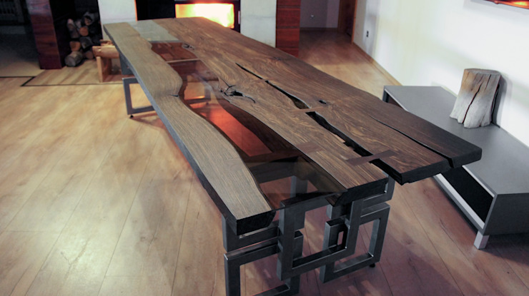 rustic  by Old Wood Design, Rustic