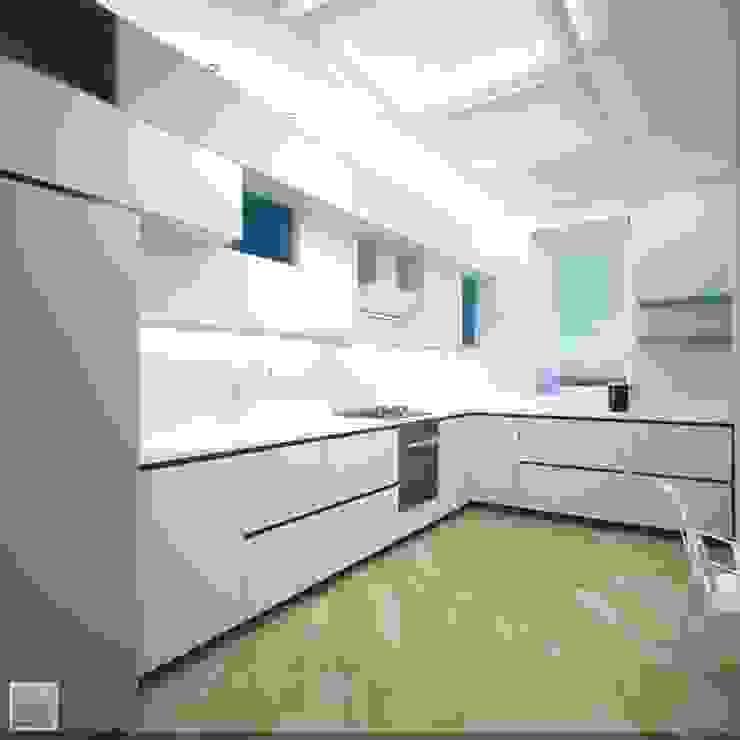 Интерьер кухни Кухня в стиле лофт от Burkov Studio Лофт