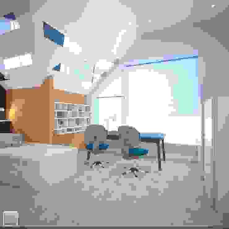 Детская спальня Детская комната в стиле лофт от Burkov Studio Лофт