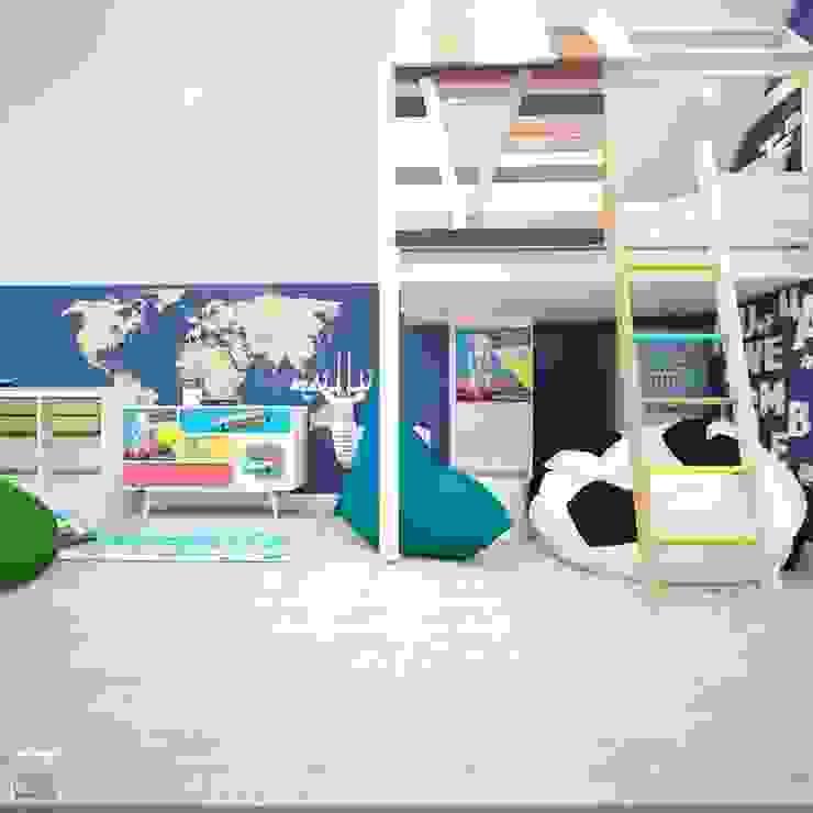 Игровая комната Детская комната в стиле лофт от Burkov Studio Лофт