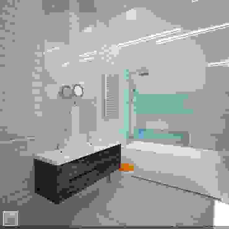 Ванная комната Ванная в стиле лофт от Burkov Studio Лофт